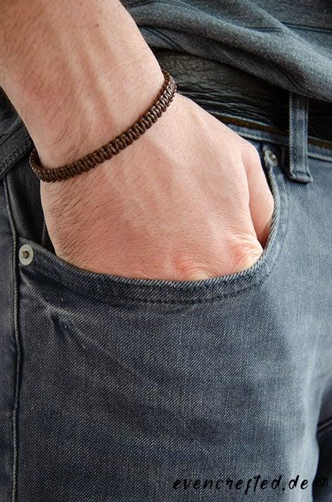 Makramee Armband für Männer