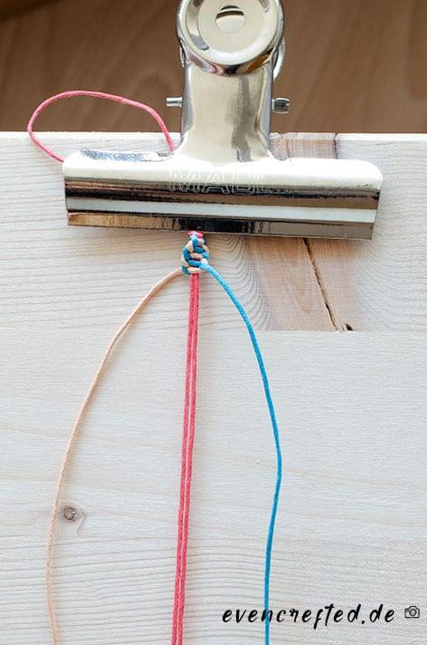 Makramee Armband Anleitung für Sie & Ihn | evencrafted.de ♥ DIY & Kosmetik Blog