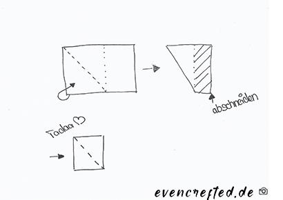Mach aus einem Rechteck fix ein Quadrat ohne zu messen