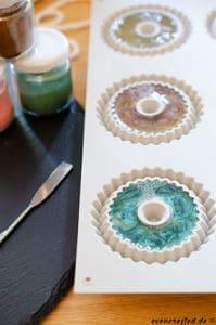Praktische Seife zum Aufhängen selber machen. Seife an der Kordel für Bad und Dusche