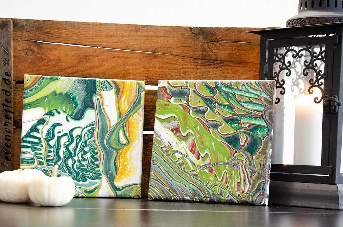 Malen für Anfänger: Warum gerade Acrylic Pouring für Anfänger fantastisch geeignet ist  | evencrafted.de ♥ DIY & Naturkosmetik Blog