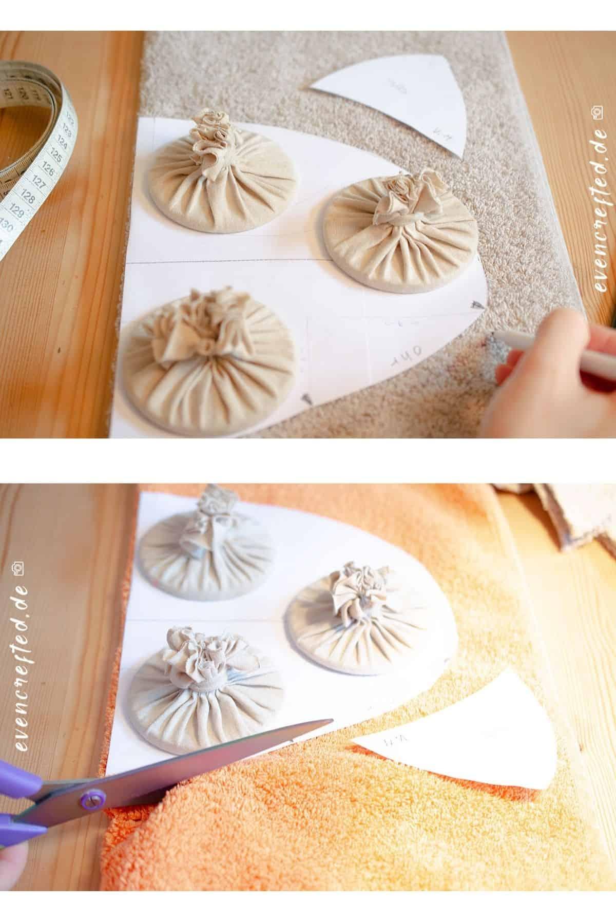 Geschenk zur Geburt selber machen: Süßes Babykissen nähen ♥ | evencrafted.de ♥ DIY & Naturkosmetik Blog