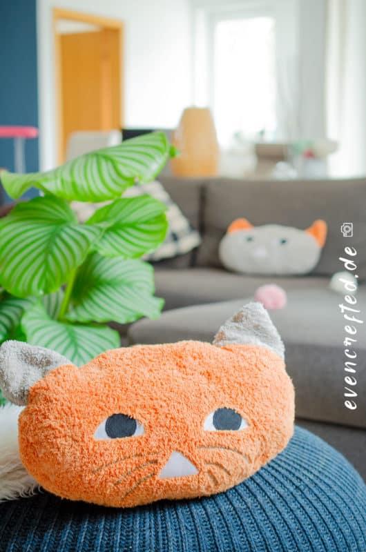 Geschenk zur Geburt: Nähe ein süßes Babykissen- Anleitung für Nähanfänger| evencrafted.de ♥ DIY & Naturkosmetik Blog