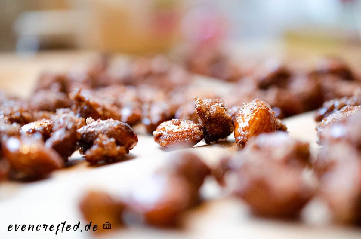 Die leckersten gebrannten Mandeln selber machen- in nur 10 Minuten | evencrafted.de ♥ DIY & Naturkosmetik Blog