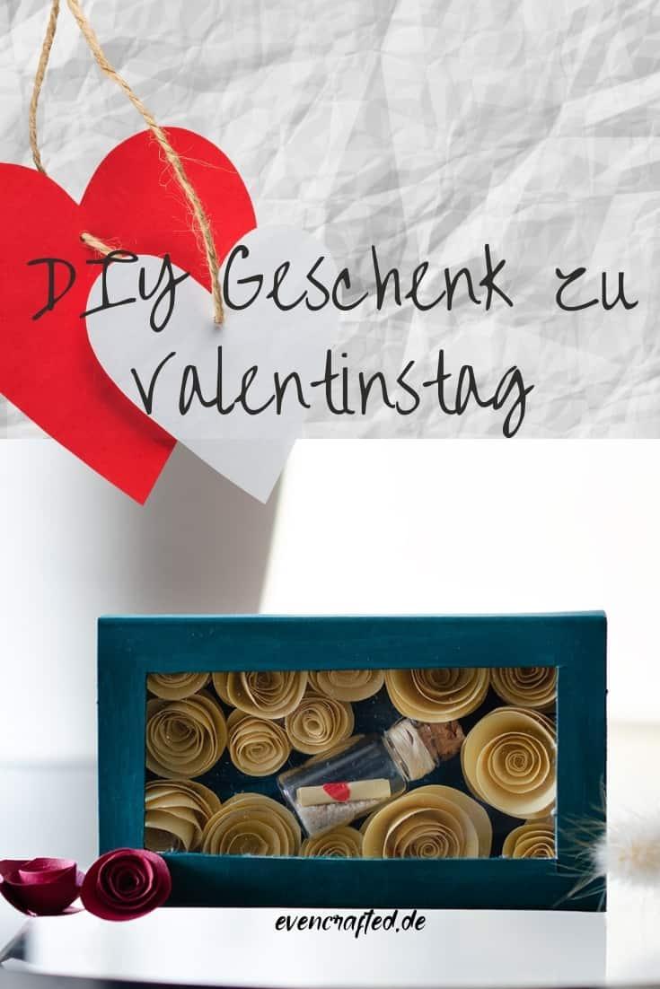 DIY Geschenk für deine Liebsten- Romantische Botschaft in einer Streichholzschachtel | evencrafted.de ♥ DIY & Naturkosmetik Blog