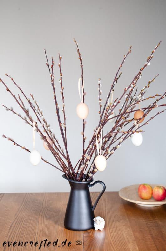 DIY Osterdeko aus Naturmaterialien basteln | evencrafted.de ♥ DIY & Naturkosmetik Blog