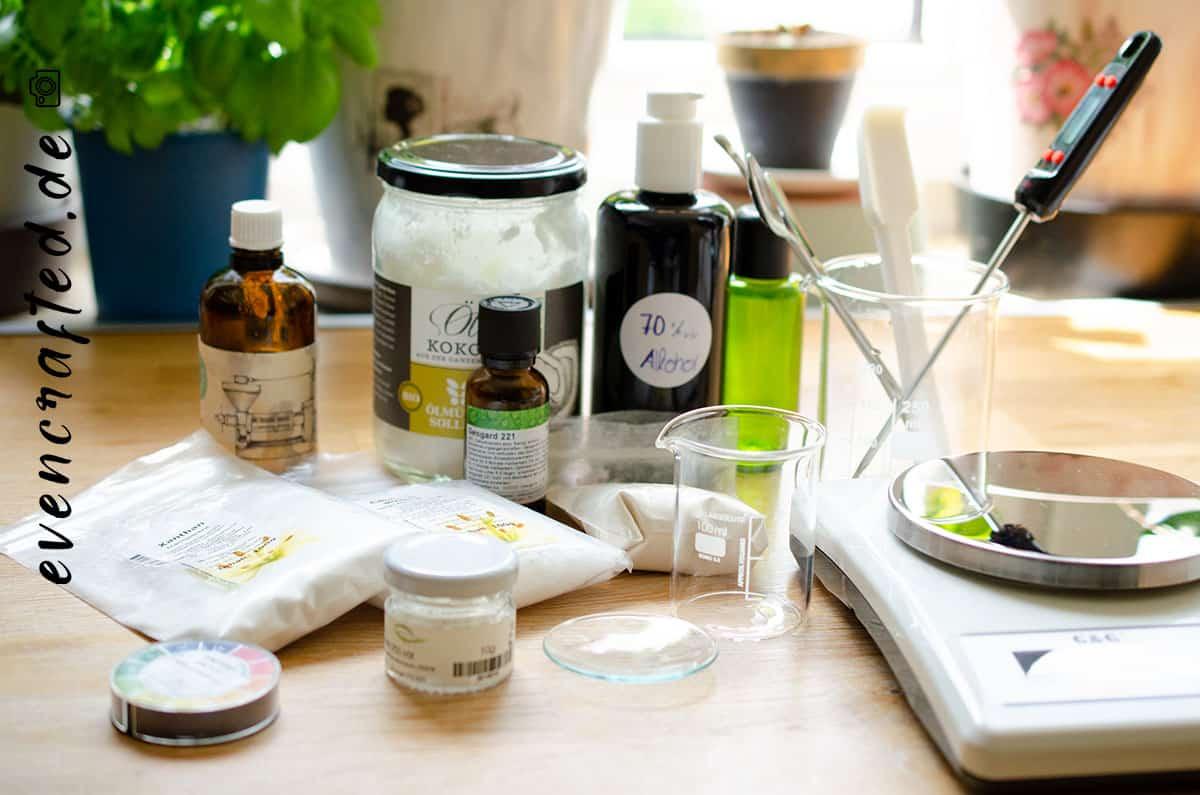 Auch für (Rühr) Anfänger geeignet: Augen Make Up Entferner ganz einfach selber machen- mit Kokosöl  | evencrafted.de ♥ DIY & Naturkosmetik Blog